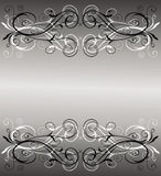 Abstract vintage banner Stock Photography