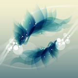 Abstract vintage blue background for design Stock Photo