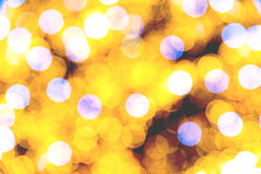 Abstract Vintage City Lights Stock Photo