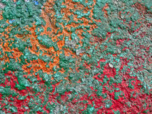 Abstract vintage color wall, nostalgia details. Stock Photos