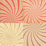 Abstract vintage colored sun burst background. EPS 10 Royalty Free Stock Image