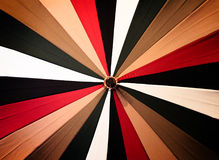 Abstract vintage colorful umbrella Royalty Free Stock Images