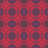 Abstract vintage contrast wallpaper pattern seamless background. Stock Photography
