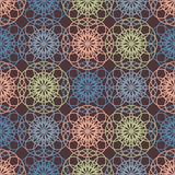 Abstract vintage contrast wallpaper pattern seamless background. Stock Photo