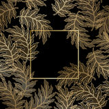 Abstract vintage damask pattern Stock Image