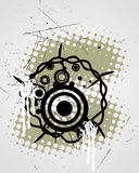 Abstract vintage design Royalty Free Stock Images