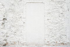 Abstract vintage empty background.Photo of old white painted brick wall texture. White washed brickwall surface royalty free stock images