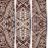 Abstract vintage ethnic banner Royalty Free Stock Images