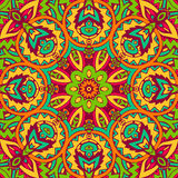 Abstract vintage ethnic pattern Stock Photography