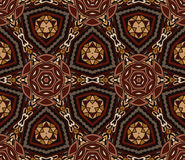 Abstract vintage ethnic pattern ornamental Royalty Free Stock Images