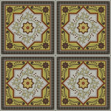 Abstract vintage ethnic seamless pattern ornamental. vector flourish frame.  Stock Images