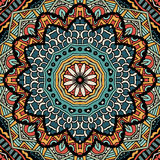 Abstract vintage ethnic tribal pattern Stock Photography
