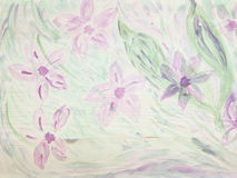 Abstract vintage floral background made with color filters. Watercolor composition Stock Photography