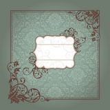 Abstract vintage frame Stock Images