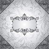 Abstract vintage frame. Vector illustration Stock Photo