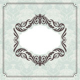 Abstract vintage frame Royalty Free Stock Photos