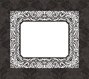 Abstract vintage frame Stock Photography