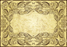 Abstract vintage frame Royalty Free Stock Photography