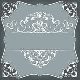 Abstract vintage frame Royalty Free Stock Images
