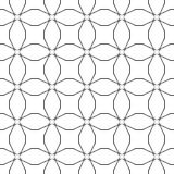 Abstract vintage geometric pattern. seamless background. Vector illustration Stock Images