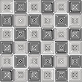 Abstract vintage geometric wallpaper pattern seamless background.  stock illustration