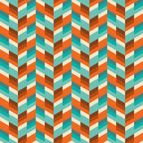 Abstract vintage geometric wallpaper pattern seamless background Stock Image
