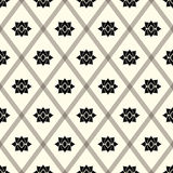 Abstract vintage geometric wallpaper pattern seamless background Stock Photos