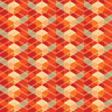 Abstract vintage geometric wallpaper pattern seamless background Royalty Free Stock Photos