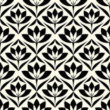 Abstract vintage geometric wallpaper pattern seamless background Royalty Free Stock Image