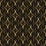 Abstract vintage geometric wallpaper pattern seamless background Stock Photography