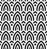 Abstract vintage geometric wallpaper pattern seamless background Royalty Free Stock Images