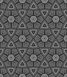 Abstract vintage geometric wallpaper pattern Stock Photos