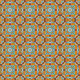 Abstract vintage geometric wallpaper pattern. Seamless background. Vector illustration royalty free illustration