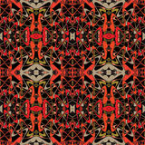 Abstract vintage geometric wallpaper pattern Stock Photo