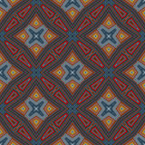 Abstract vintage geometric wallpaper pattern Royalty Free Stock Photography
