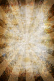 Abstract vintage grunge background with sun rays Stock Images