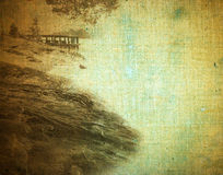 Abstract vintage landscape Stock Photography