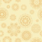 An abstract vintage pattern seamless background. Royalty Free Stock Photo