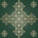 Abstract vintage pattern on seamless background Stock Images