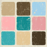 Abstract vintage poster. Royalty Free Stock Photos