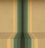 Abstract Vintage Rainbow Lines Royalty Free Stock Image