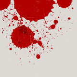 Abstract vintage red watercolor splash Stock Photo
