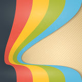 Abstract Vintage Ribbons Background. Royalty Free Stock Images