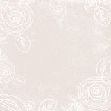 Abstract Vintage Rose Background royalty free illustration
