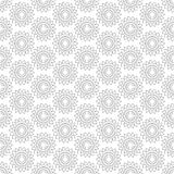 Abstract vintage seamless background with mandala ornaments. Royalty Free Stock Photo