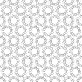 Abstract vintage seamless background with mandala ornaments. Royalty Free Stock Images