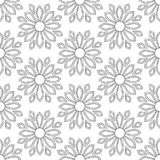 Abstract vintage seamless background with mandala ornaments. Royalty Free Stock Photos
