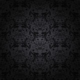 Abstract vintage seamless damask pattern Stock Images