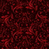 Abstract vintage seamless damask pattern Royalty Free Stock Photos