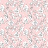 Abstract vintage seamless damask pattern Royalty Free Stock Photography